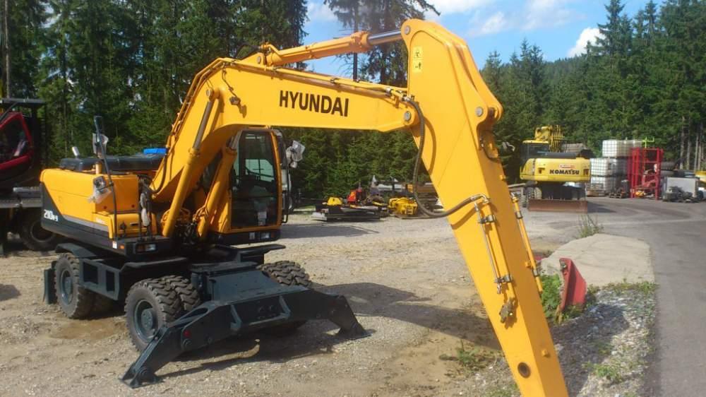 kaufen Мобильный экскаватор / Wheel excavator Hyundai R210W-9 - 2011