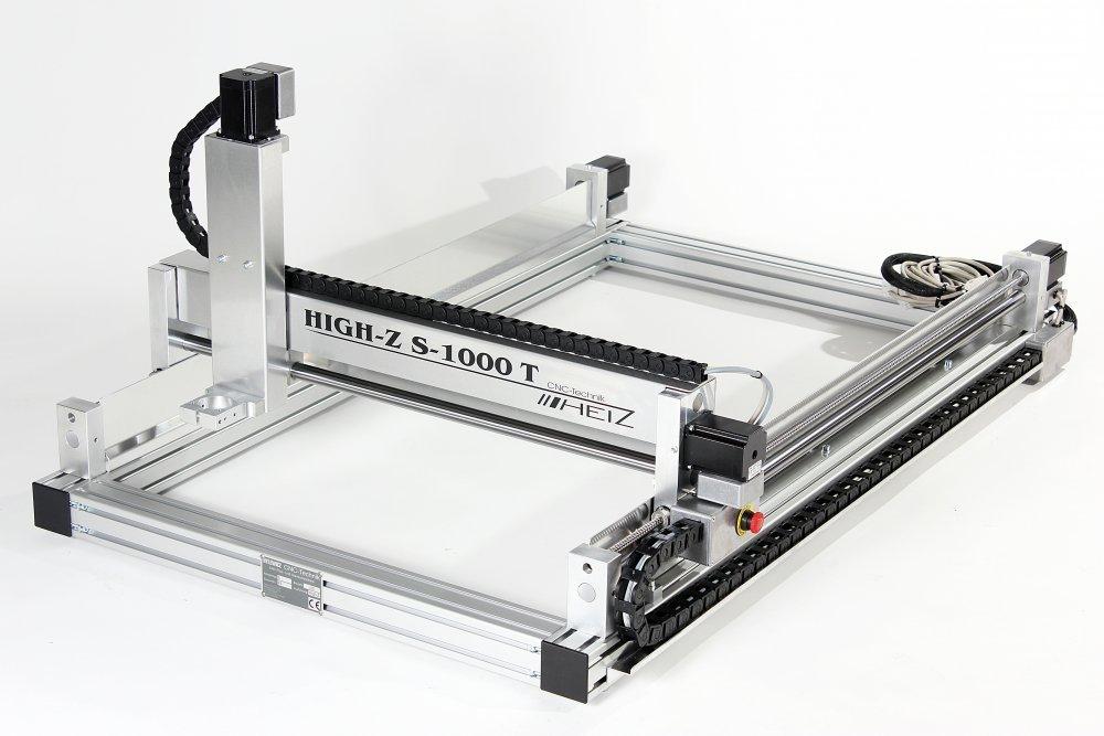 kaufen CNC Fräser High-Z S-1000/T / 3D Fräsmaschine für Holz, Aluminium, Stahl, Edelstahl, Kunststoff, Marmor etc