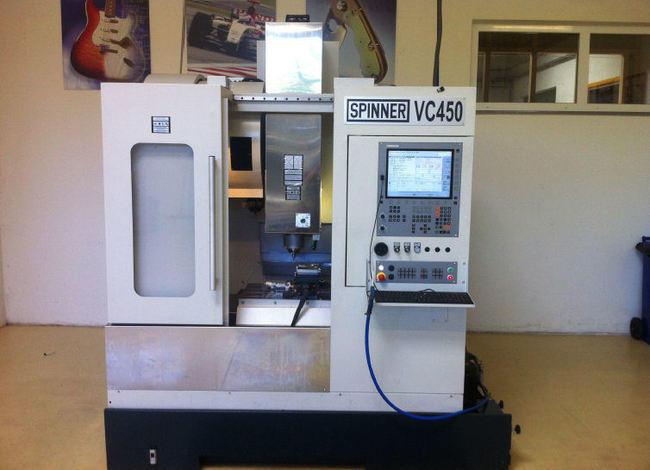 kaufen Bearbeitungszentrum-Vertikal Fabrikat Spinner Typ VC 450