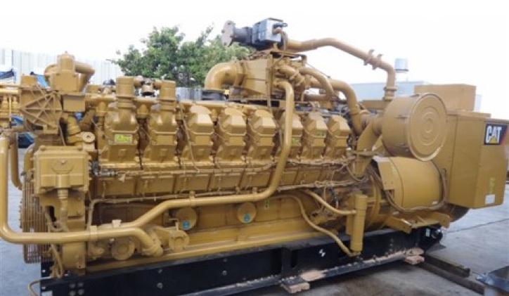 kaufen Natural Gas Engine, Caterpillar G 3516, 03,85 MW