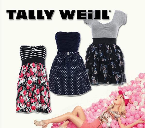 kaufen Neue Stock Bekleidung für Mädels und Frauen, Tally Weijl