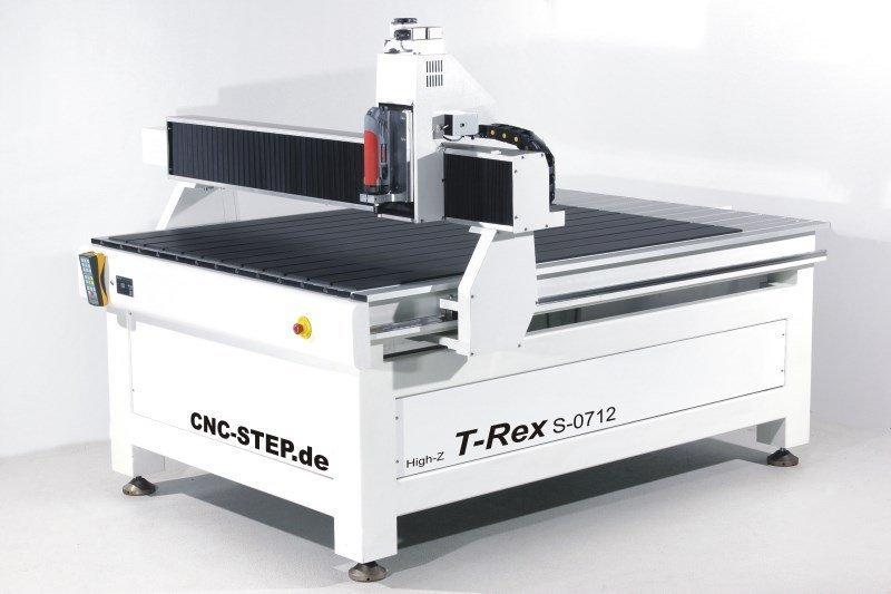 kaufen CNC Portalfraese T-Rex 1215 für Dibond, Messing, Holz, Hartholz, Plastik, PVC, CFK, GFK : Holzfräse, Fräse