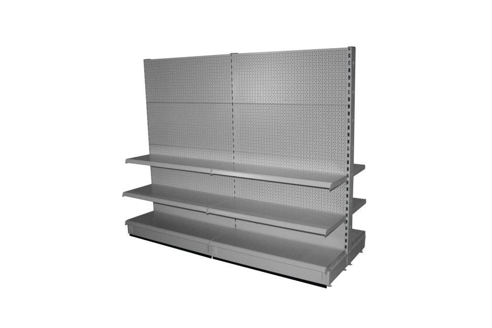 kaufen Ladenregal mit gelochter Metallrückwand