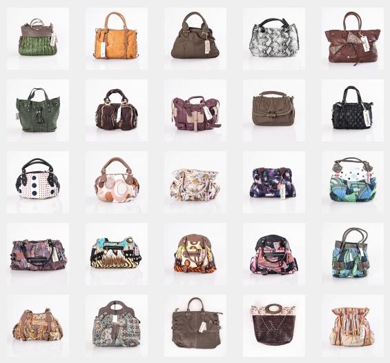 kaufen Bunte Kollektion von Damen Handtaschen aus Spanien