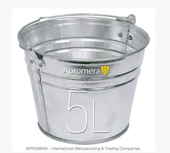 kaufen Zinkeimer 5 Liters / eimerverzinkt , blecheimer , metalleimer, Eimer verzinkt Pflanzkübel