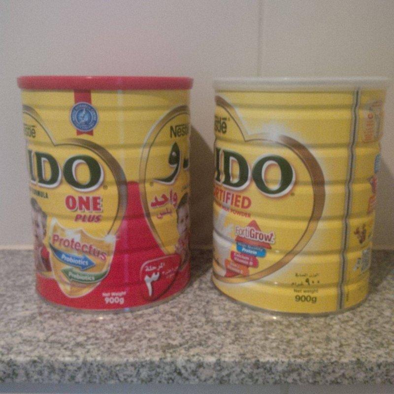 kaufen Nestlé Nido Rotkappe mit arabischer Beschriftung zu verkaufen