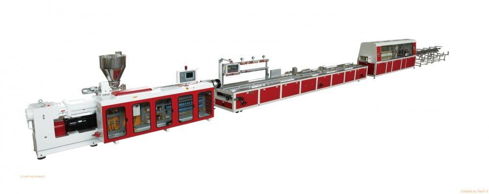 kaufen Технологическая линия для производства декоративных профилей из вспененного PS производительностью: 60 кг/час - RBEKCM-443A2/2016