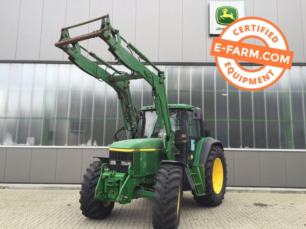 kaufen Traktor John Deere 6610