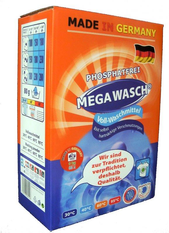 kaufen Mega Wasch Vollwaschmittel Waschpulver Waschmittel 8 kg
