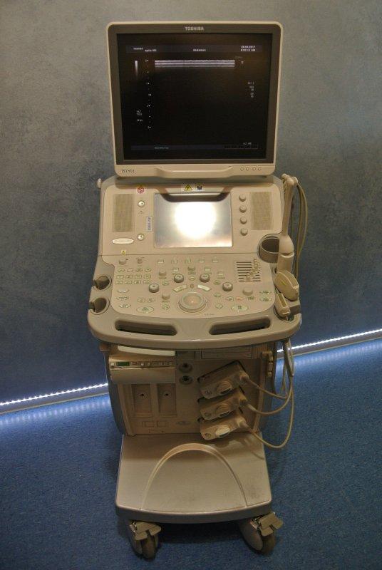 kaufen Ультразвуковой сканер Toshiba Aplio MX с тремя датчиками 2010г.