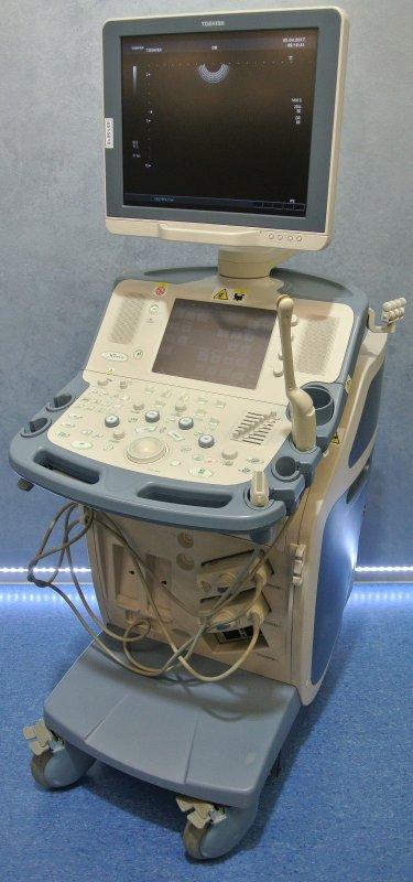 kaufen Ультразвуковой сканер Toshiba Xario с двумя датчиками 2009г.