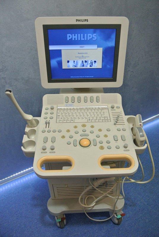 kaufen Ультразвуковой сканер PHILIPS HD7 c тремя датчиками 2008г.