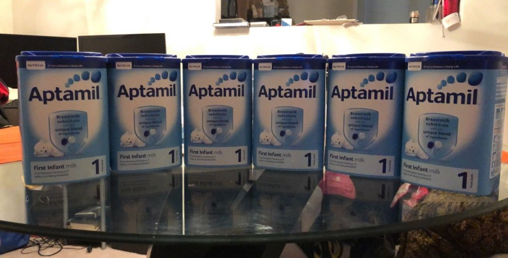 German Aptamil 1, 2, 3 , Baby Milk Formula and