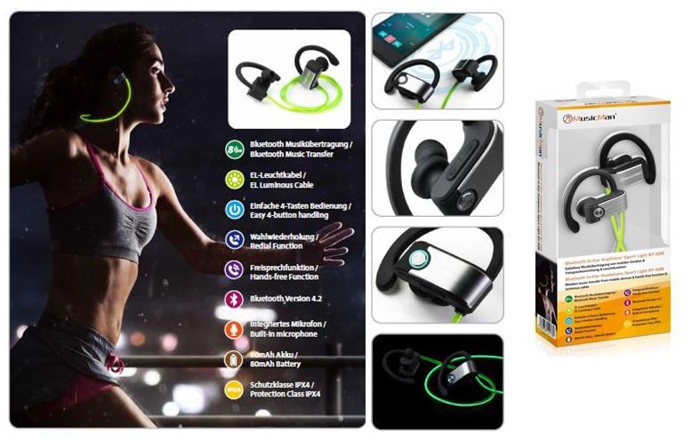kaufen Cuffie Bluetooth In-Ear - BT-X28