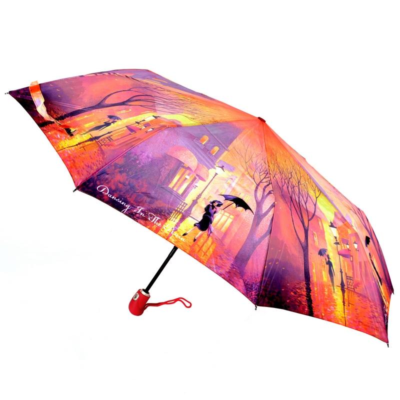 kaufen Auto Open Close Pocket Umbrella ZEST 23846 Windproof Motley Motifs