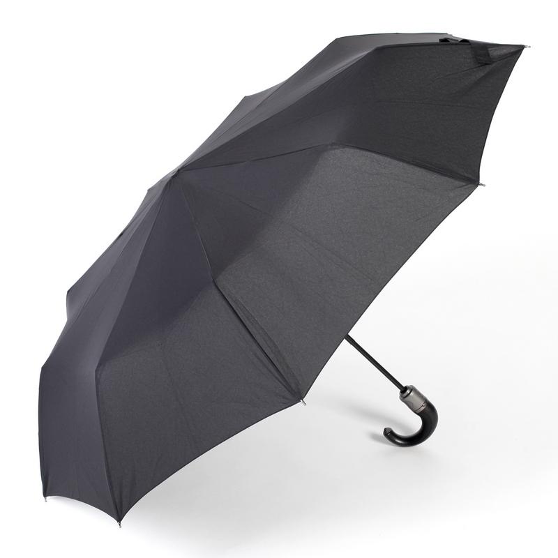kaufen Auto Open Close Folding Umbrella ZEST 13990 Windproof Leatherette Handle