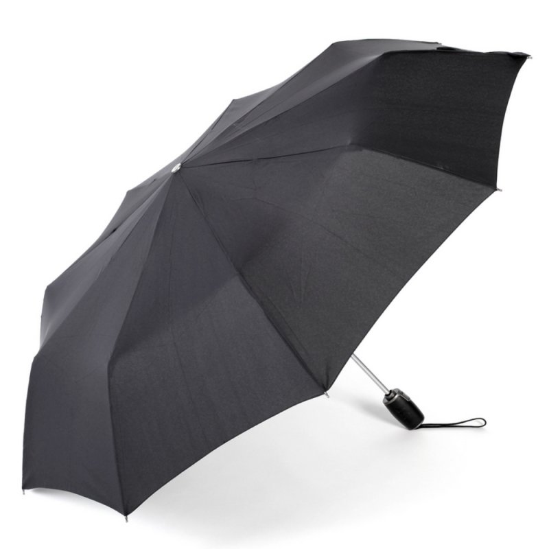Auto Open Close Pocket Umbrella ZEST 13850 Windproof Leatherette Handle