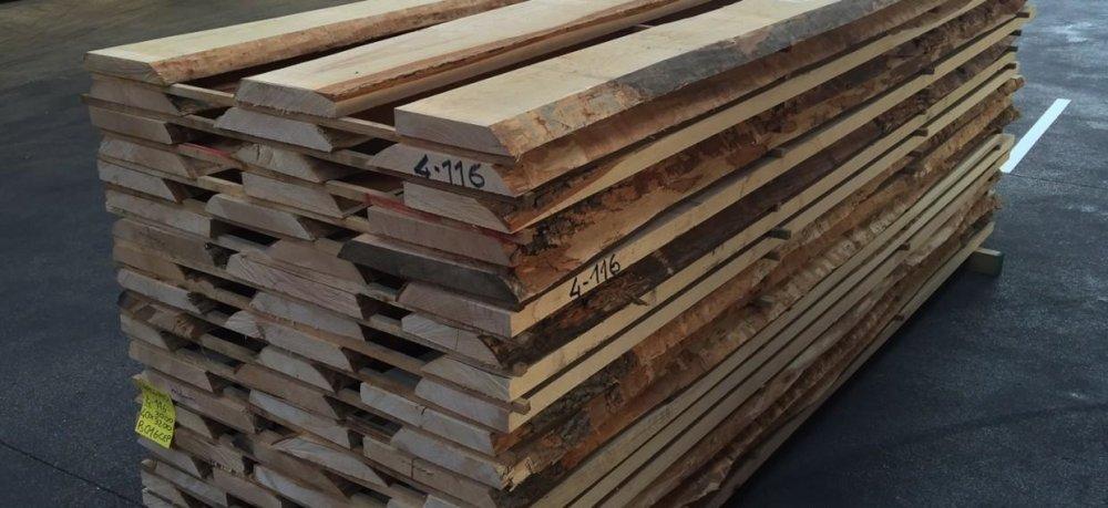 kaufen European Unedged Beech lumber