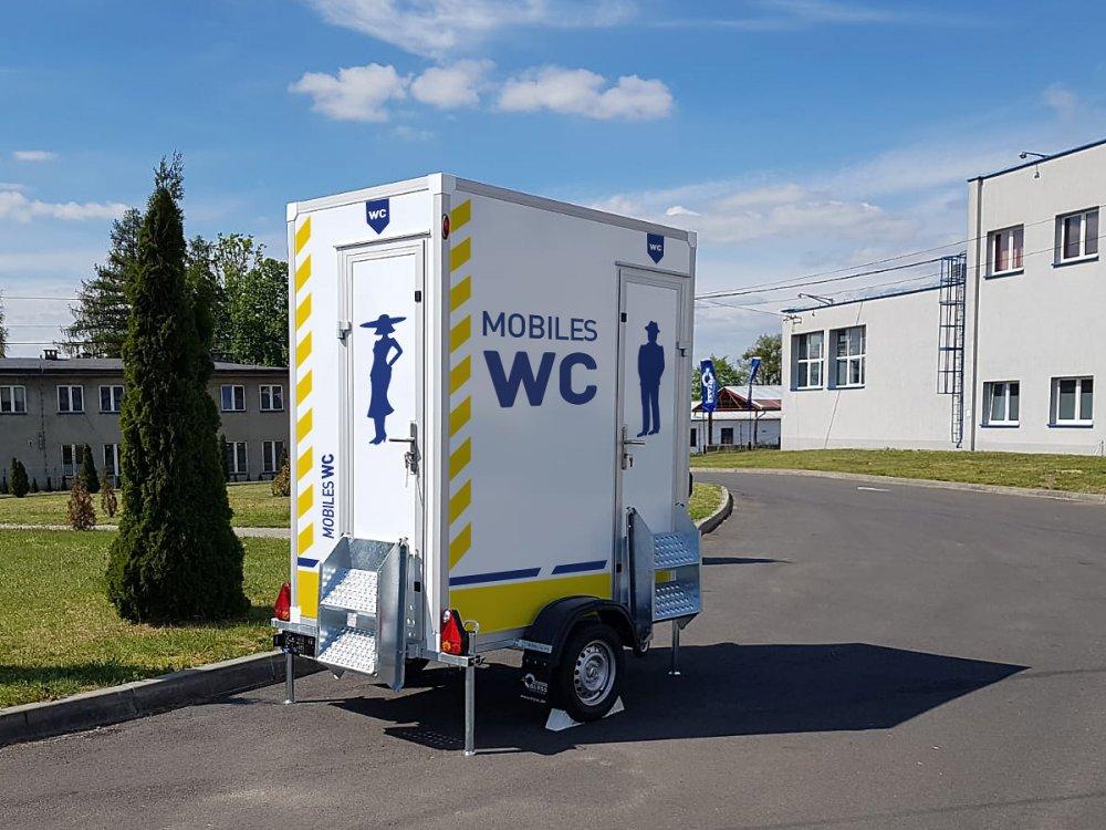 kaufen BLYSS Toilettenanhänger 750kgGG 110x110x210cm