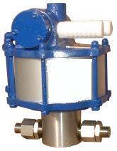 Pneumatisch-hydraulische Hochdruckpumpen PTM bis