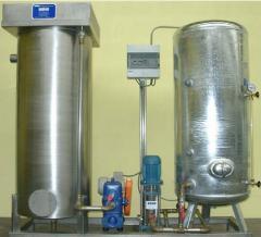 Wasseraufbereitungsanlage mit Belüftung