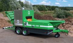 Mobil- und Stationärshredder für Kompost, Grünschnitt, Holz und Altholz