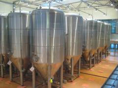 Gär- und Lagertanks