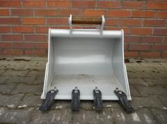 Tieflöffel 500mm für Minibagger mit MS01