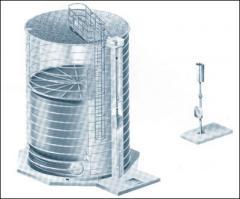 Gasbehälter für Bio-, Klär- und Deponiegas