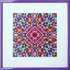 Kristal-Mosaik der Heilung und Befreiung
