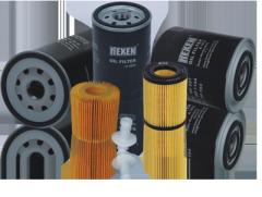 Gasket oil filters
