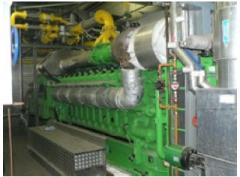 2 Units Jenbacher 616 Natural Gas Gensets