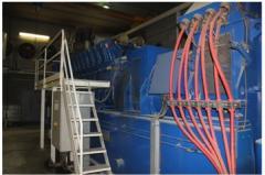 Gas-piston cogeneration station