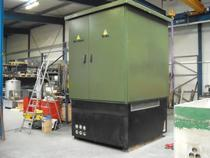 Substations transformer outdoor installation