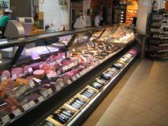 Komplette Supermarkteinrichtung