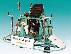 Двухроторная затирочная машинка однороторная затирочная машинка Kreber