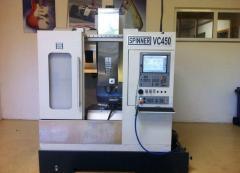 Bearbeitungszentrum-Vertikal Fabrikat Spinner Typ VC 450