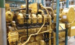 Gas Engine, Caterpillar CAT 3512, 0,77 MW