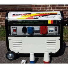 WEST CRAFT gasoline power generator 5500 watts