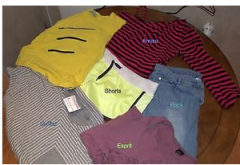 Branded clothing