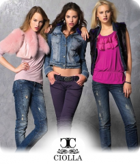 CIOLLA Pink 2013 Women Collection Stock