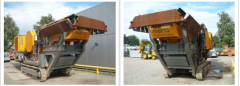 Stone crushing plants and machinery for quarries