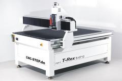 CNC Portalfraese T-Rex 1215 für Dibond, Messing, Holz, Hartholz, Plastik, PVC, CFK, GFK : Holzfräse, Fräse