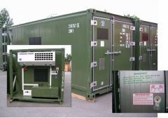 Militärcontainer