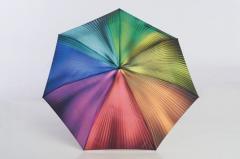 Regenbogenschirm bunt