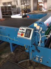 Cuttin machine Rosenthal SHEETMASTER for photovoltaic module production