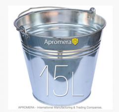 Eimer Verzinkt 15L / Eimer und Behältnisse für alle Zwecke