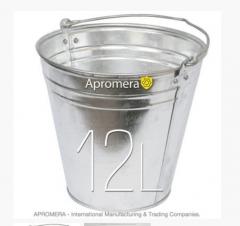Eimer Verzinkt 10L / Eimer und Behältnisse für alle Zwecke