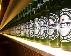Energy drinks and Heineken beer