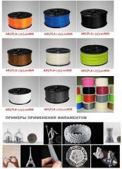 Технологическая линия для производства филамента ABS для 3D принтеров. предложение RBKCM-406 A/2015